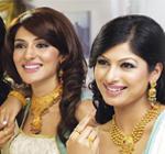 Gold Jewellery Set