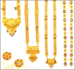 Stone Stubbed Gold Jewellery